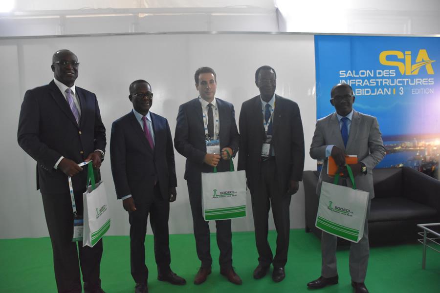 Salon des Infrastructures d'Abidjan (SIA) - La SODECI présente ses innovations.